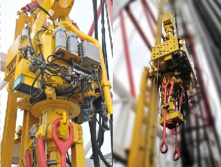 Direct Top Drive [ Offshore Drilling Module - Workover Rig ]