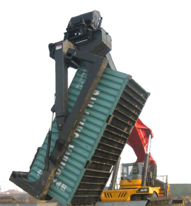 Container Reach Stacker with Inclinable Spreader:SRSC4032C3-S