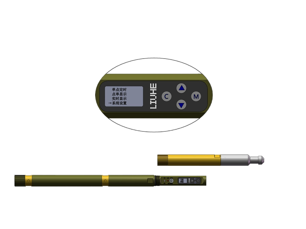 Direct-reading Geological Survey Instrument
