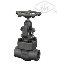 Forged steel throttle valve